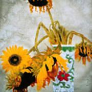 Sun Flowers No.1  Art Print