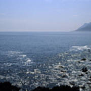 Sun Glints Off Te Ocean Near Cape Art Print