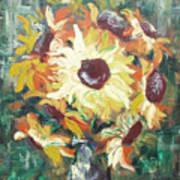Sun In A Vase Art Print