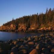 Sun Kissed Acadia Art Print