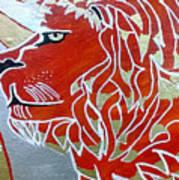 Sun Lion Art Print