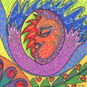 Sun Man Art Print