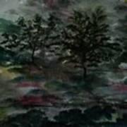 Sun Meadow Art Print