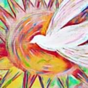 Healing Wings Art Print