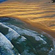 Sun Rise Coast  Art Print