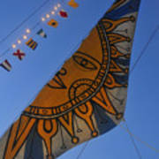 Sun Sailing Art Print