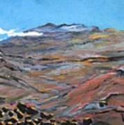 Sun Salutation At Haleakala Art Print