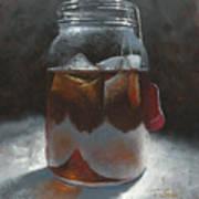 Sun Tea Art Print by Timothy Jones