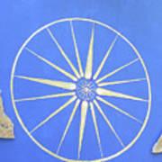 Sun Wheel Art Print