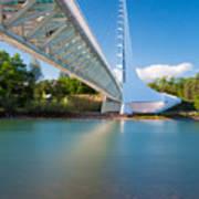 Sundial Bridge 1 Art Print