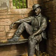 Sundance Kid Statue Art Print