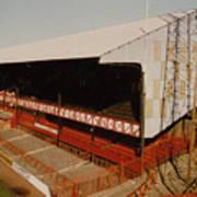 Sunderland - Roker Park - Main Stand 2 - Leitch - 1970s Art Print