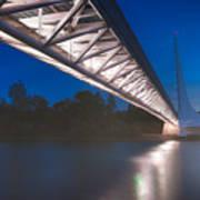 Sundial Bridge 4 Art Print