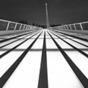 Sundial Bridge 9 Art Print