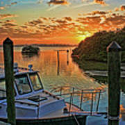 Sundown By H H Photography Of Florida Art Print