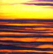 Sundown In The Marshlands Art Print