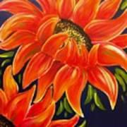 Sunflora Art Print