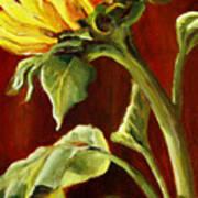 Sunflower - Sunny Side Up Art Print
