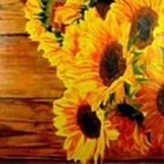 Sunflower 1 Art Print