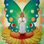 Sunflower Fairy Art Print