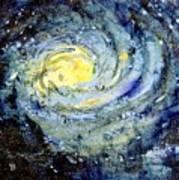 Sunflower Galaxy Art Print