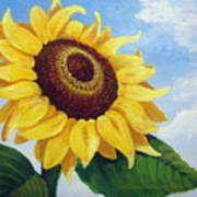 Sunflower Moment Art Print