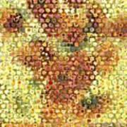 Sunflower Mosaic Art Print