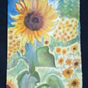 Sunflower Sea Art Print