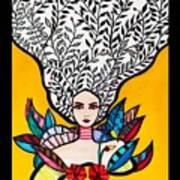 Sunflower Soul Art Print