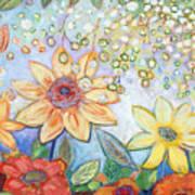 Sunflower Tropics Part 2 Art Print