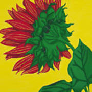 Sunflower Yellow Art Print