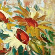Sunflowers 16 Art Print