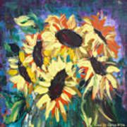 Sunflowers 2 Art Print