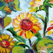 Sunflowers 6 Art Print