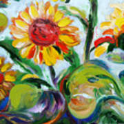Sunflowers 9 Art Print