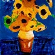 Sunflowers After Vincent Van Gogh Art Print