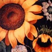 Sunflowers And More Sunflowers Art Print