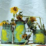 Sunflowers Art Print by Bernard Jaubert