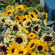 Sunflowers For Sale Art Print
