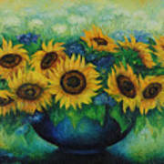 Sunflowers No 1. Art Print