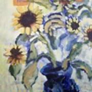 Sunflowes Art Print