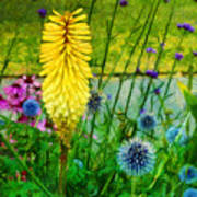Sunlight At Kew Gardens Art Print