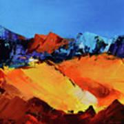 Sunlight In The Valley Art Print