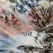 Sunlight On The River Art Print
