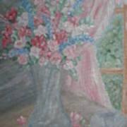 Sunlit Window II Art Print
