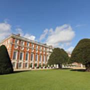 Sunny Day At Hampton Court Palace London Uk Art Print