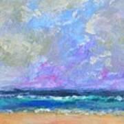 Sunny Day At The Sea Art Print