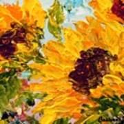 Sunny Day Sunflowers Art Print