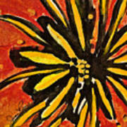 Sunny Hues Watercolor Art Print