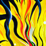 Sunny Morning, Energy. Abstract Art Art Print